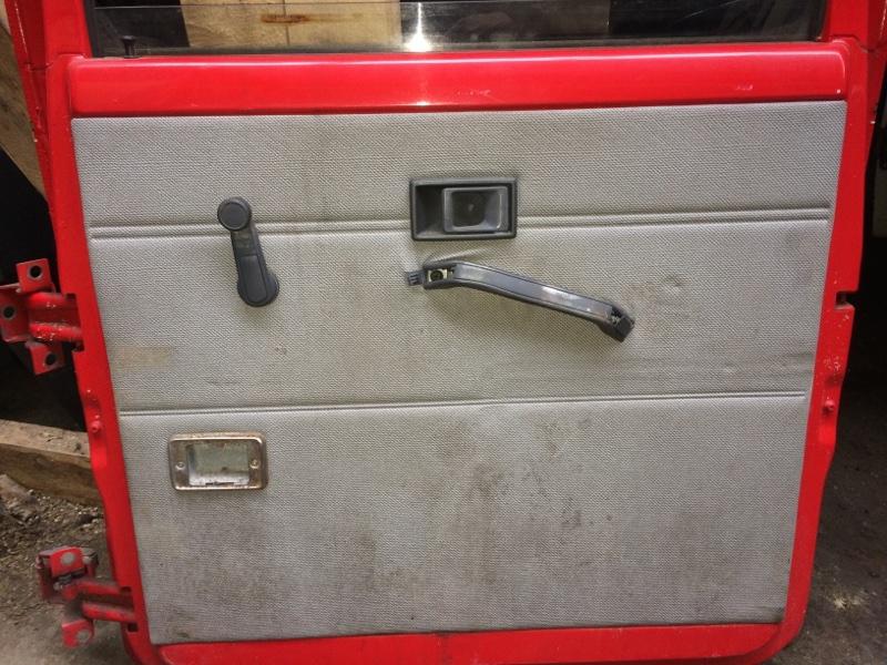 Дверная карта Mitsubishi Canter FE337 задняя правая (б/у)
