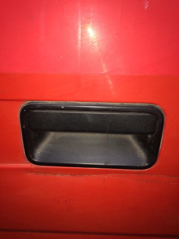 Ручка двери внешняя Mitsubishi Canter FE337 задняя левая (б/у)