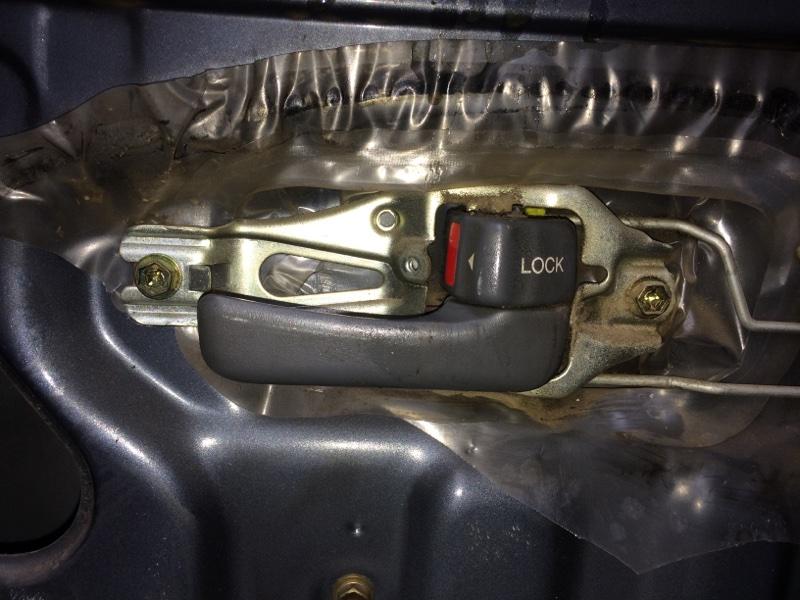 Ручка двери внутренняя Toyota Land Cruiser HDJ80 передняя правая (б/у)