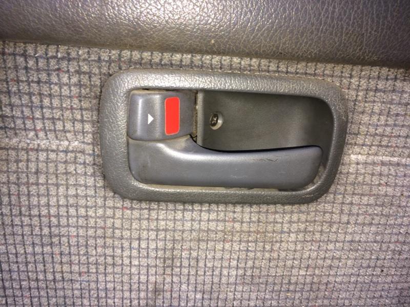 Ручка двери внутренняя Toyota Land Cruiser HDJ80 задняя левая (б/у)