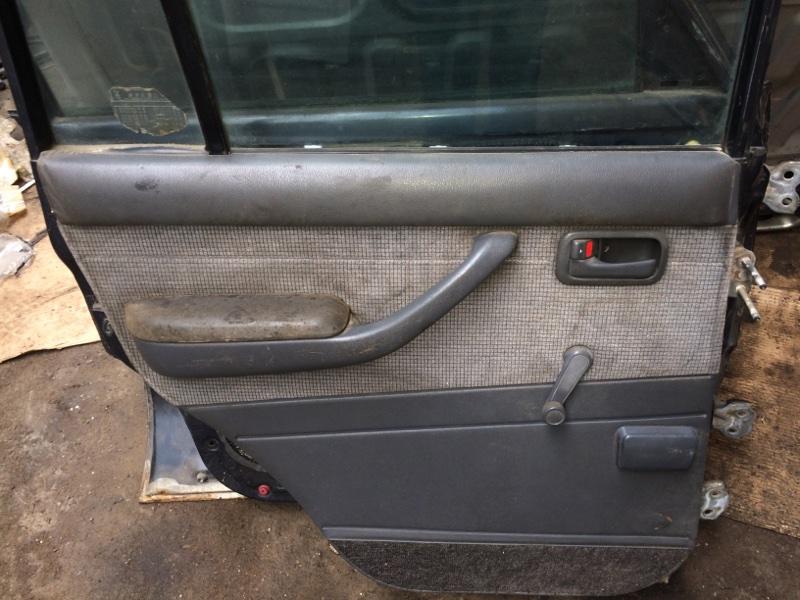 Дверная карта Toyota Land Cruiser HDJ80 задняя левая (б/у)