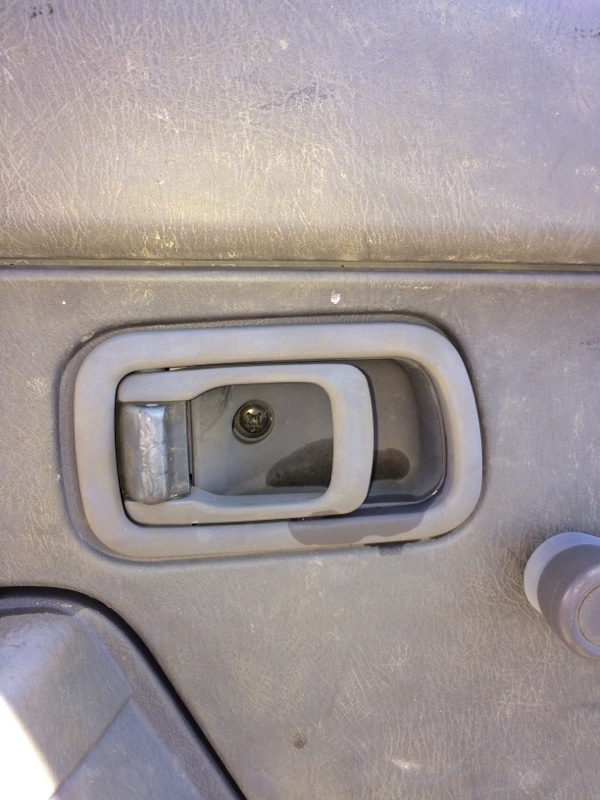 Ручка двери внутренняя Nissan Datsun LFD22 передняя левая (б/у)