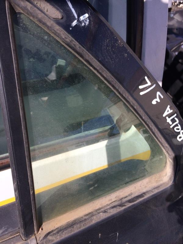 Форточка двери Toyota Belta NCP96 задняя левая (б/у)