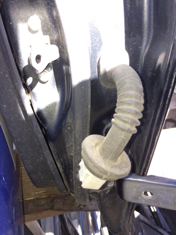 Проводка двери Toyota Belta NCP96 задняя левая (б/у)