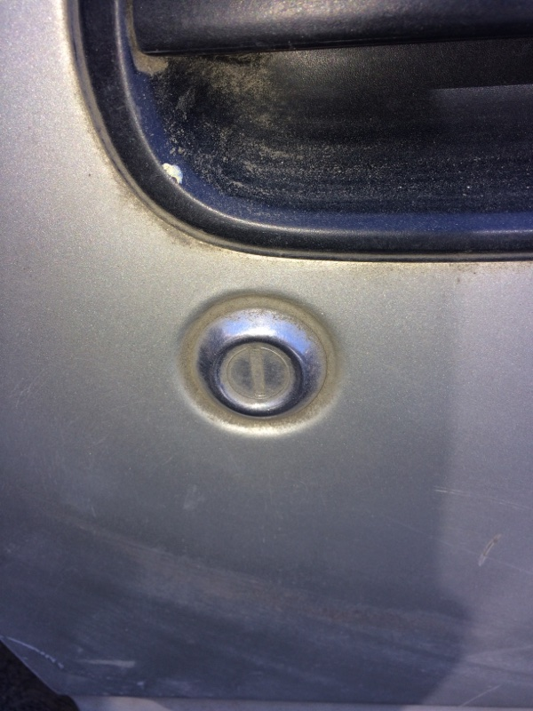 Личинка замка Toyota Town Ace CR30 передняя правая (б/у)