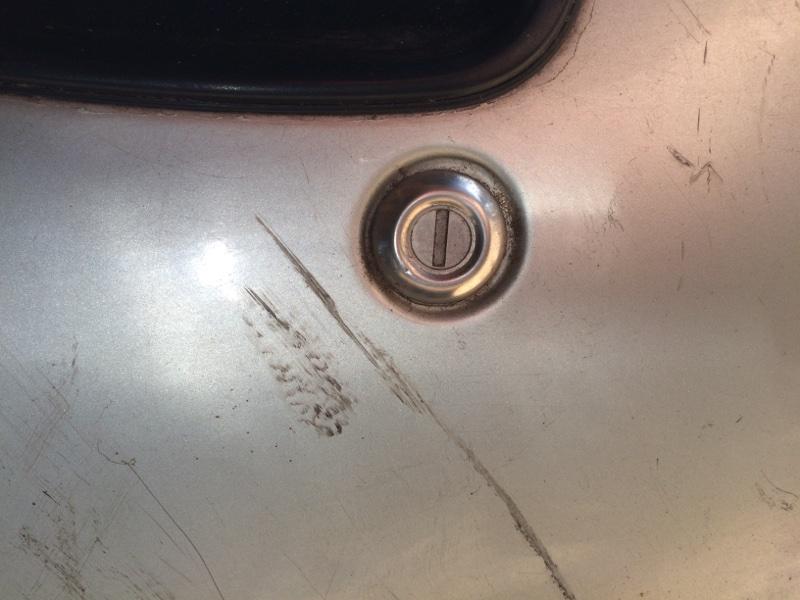 Личинка замка Toyota Town Ace CR38 передняя левая (б/у)