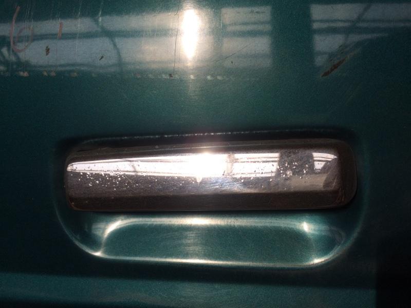 Ручка двери внешняя Nissan Safari WYY60 передняя левая (б/у)