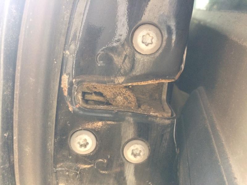 Замок двери Toyota Camry ACV40 передний левый (б/у)