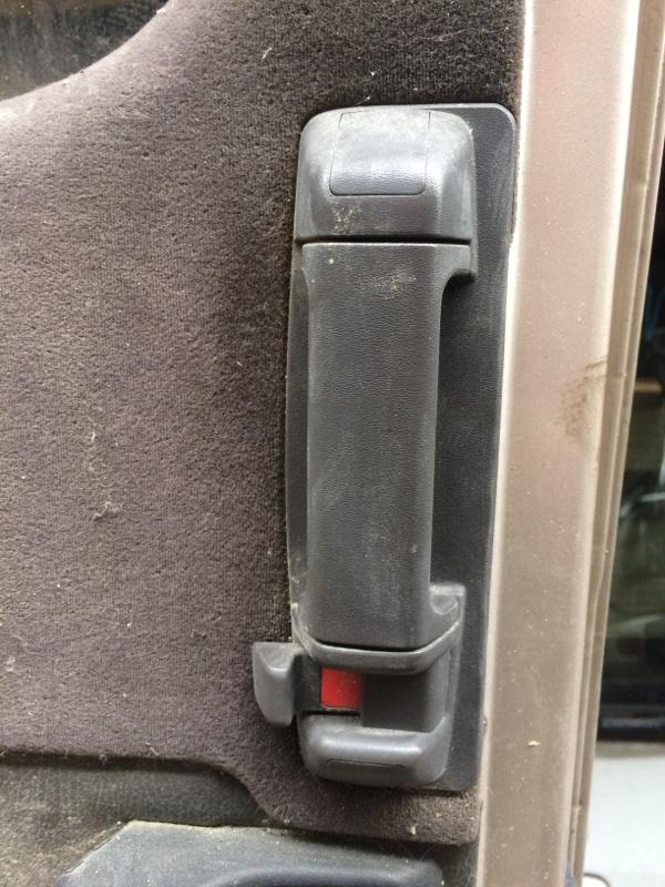 Ручка двери внутренняя Toyota Master Ace Surf CR30 задняя левая (б/у)