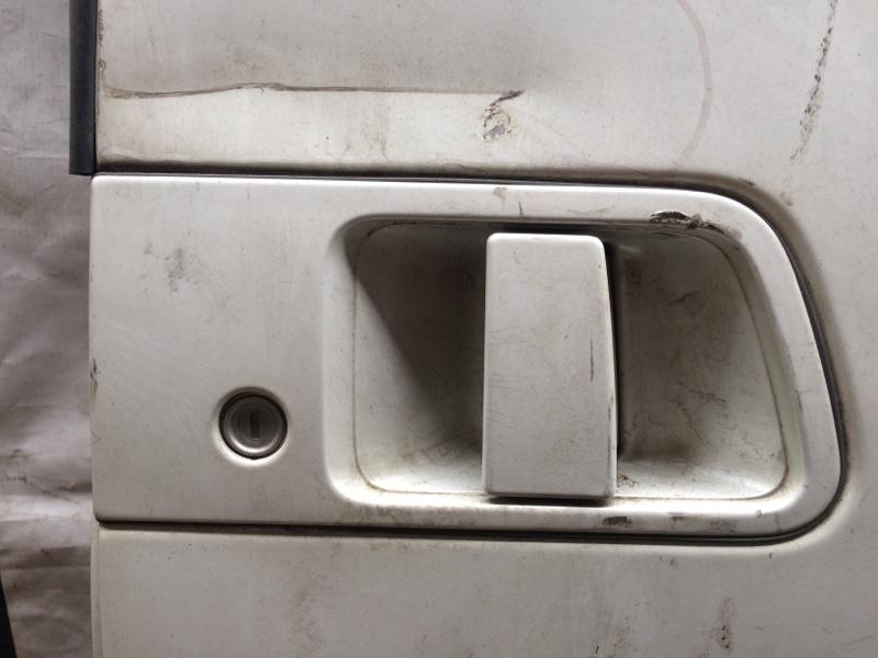 Ручка двери внешняя Nissan Elgrand AVE50 задняя левая (б/у)