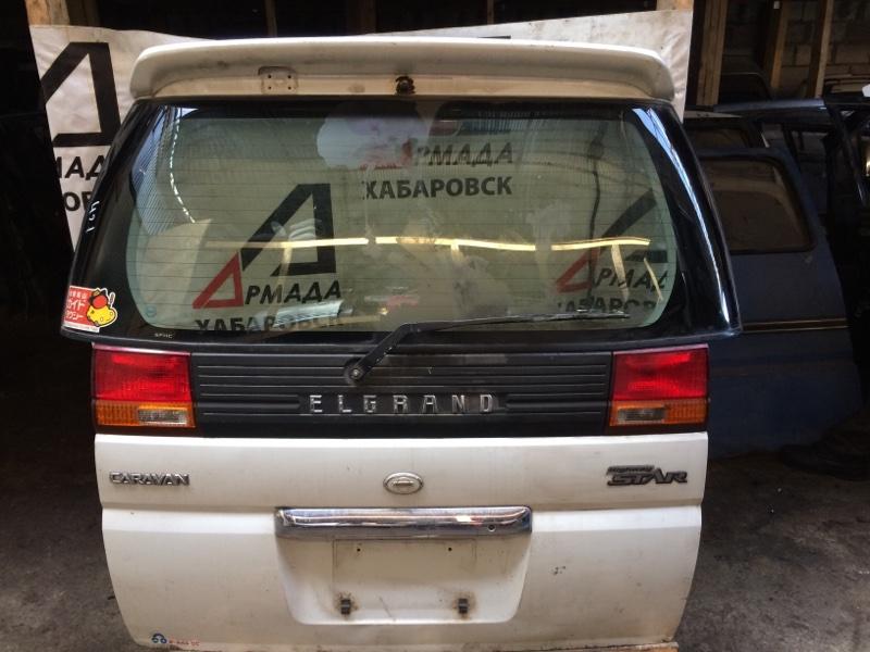 Дверь Nissan Elgrand AVE50 задняя (б/у)