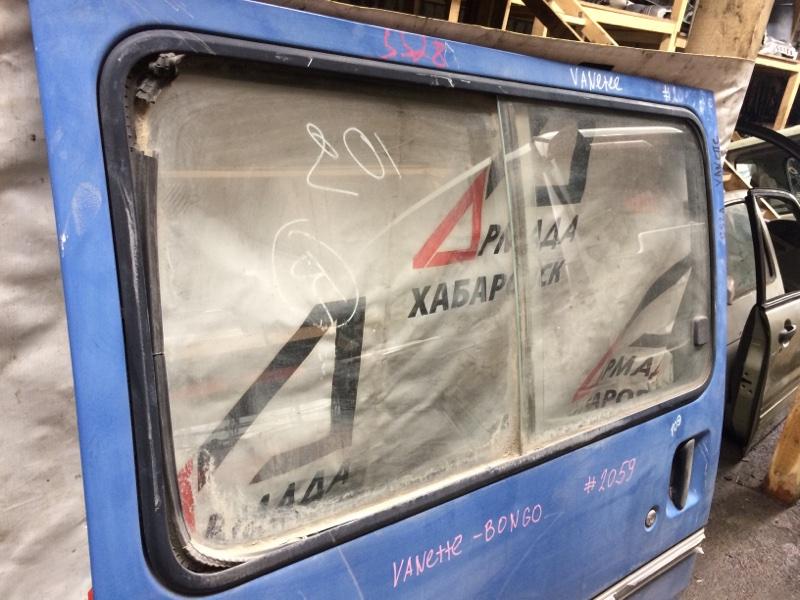 Стекло двери Mazda Bongo SS28 заднее правое (б/у)