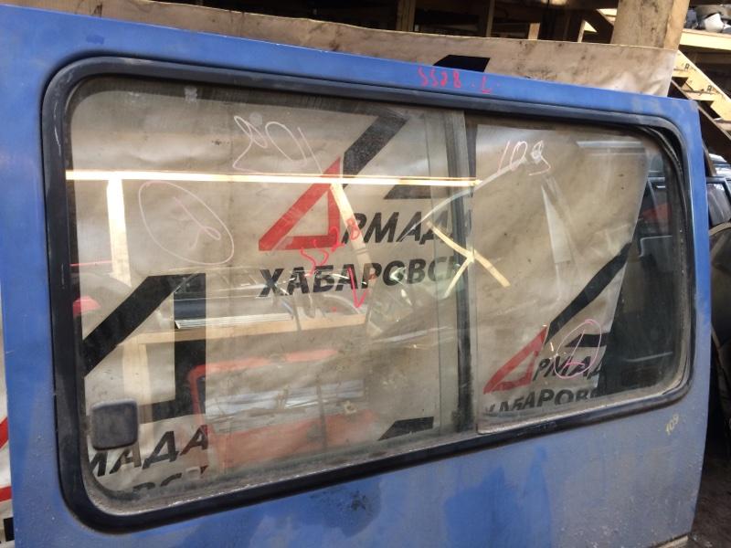 Стекло двери Mazda Bongo SS28 заднее левое (б/у)