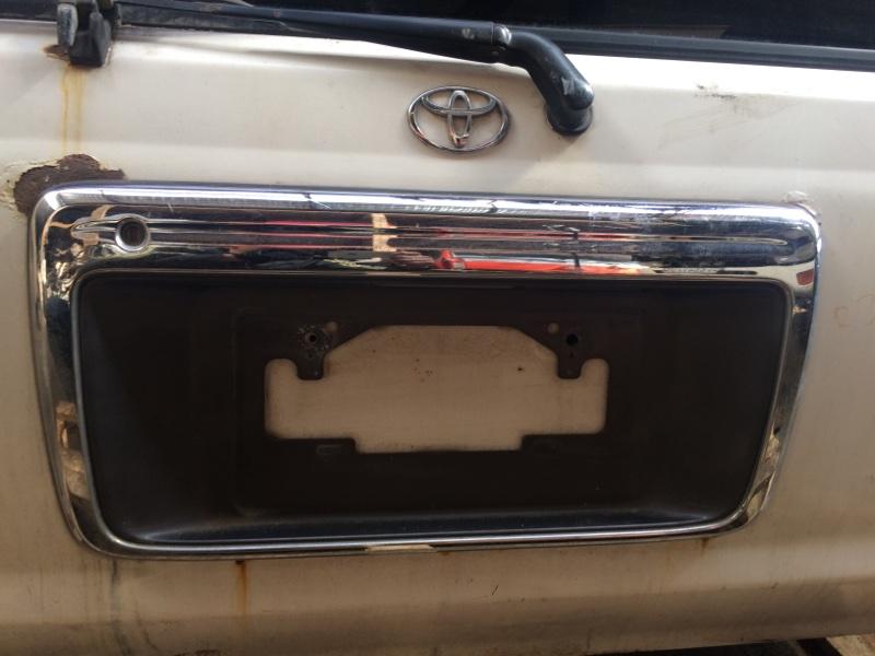 Рамка для номера Toyota Hilux Surf RZN185 (б/у)