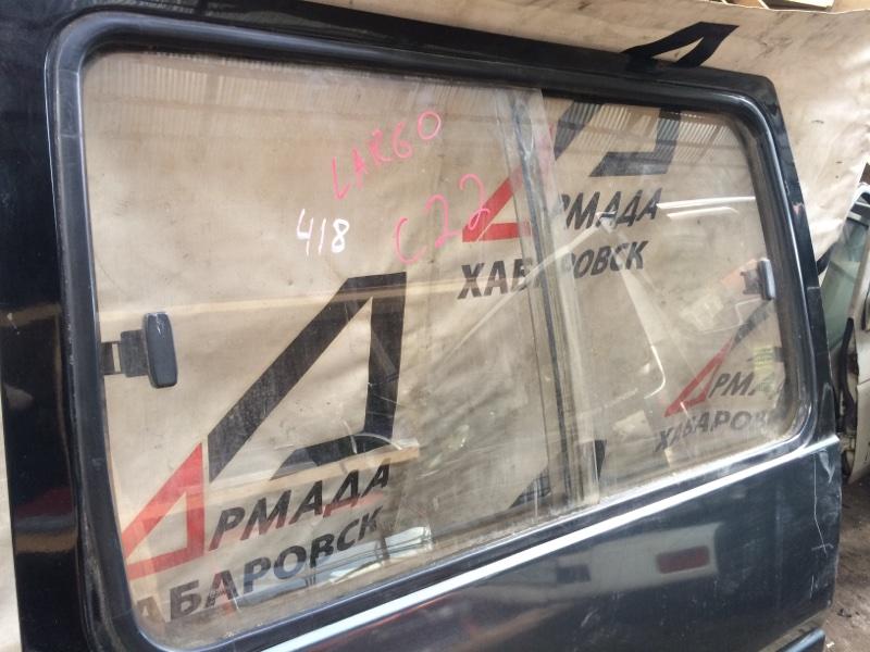 Стекло двери Nissan Largo C22 заднее левое (б/у)