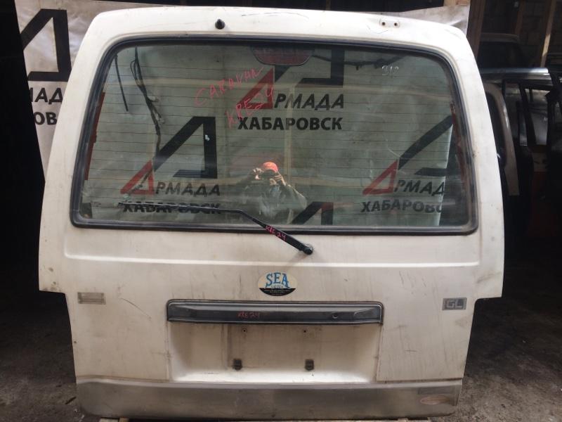 Дверь Nissan Caravan KRE24 задняя (б/у)