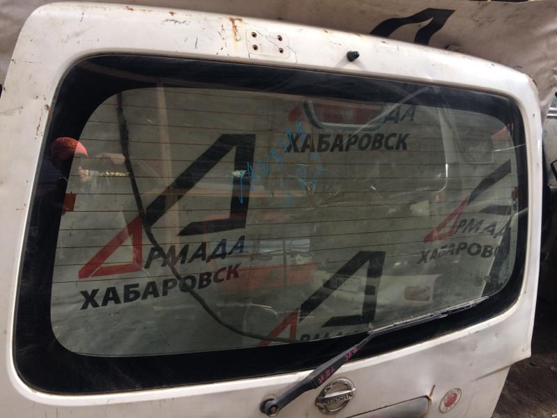 Стекло двери Nissan Vanette SK82 заднее (б/у)