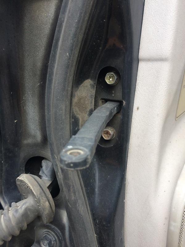Ограничитель двери Mitsubishi Delica PE8W передний правый (б/у)