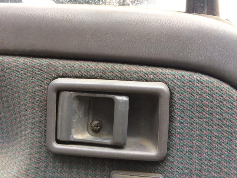 Ручка двери внутренняя Nissan Atlas P8F23 передняя левая (б/у)