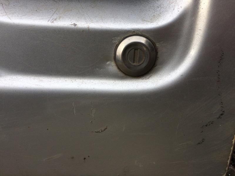 Личинка замка Nissan Atlas P8F23 передняя левая (б/у)
