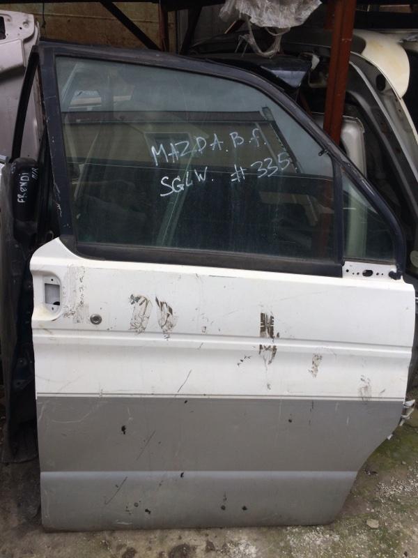 Дверь Mazda Bongo Friendee SGLR передняя правая (б/у)