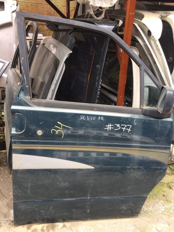 Стекло двери Mazda Bongo Friendee SGLR переднее правое (б/у)
