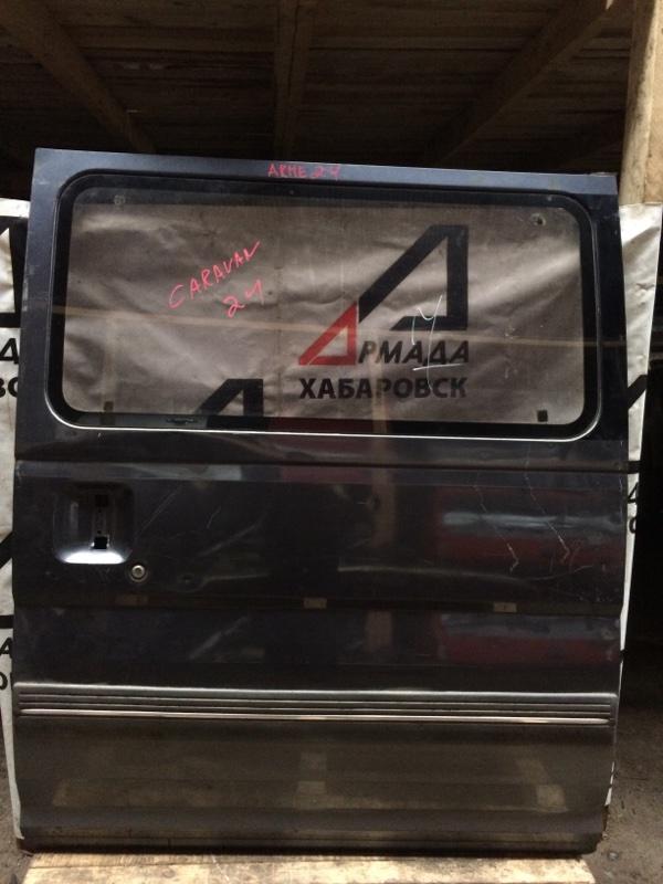 Дверь боковая Nissan Caravan ARME24 задняя левая (б/у)