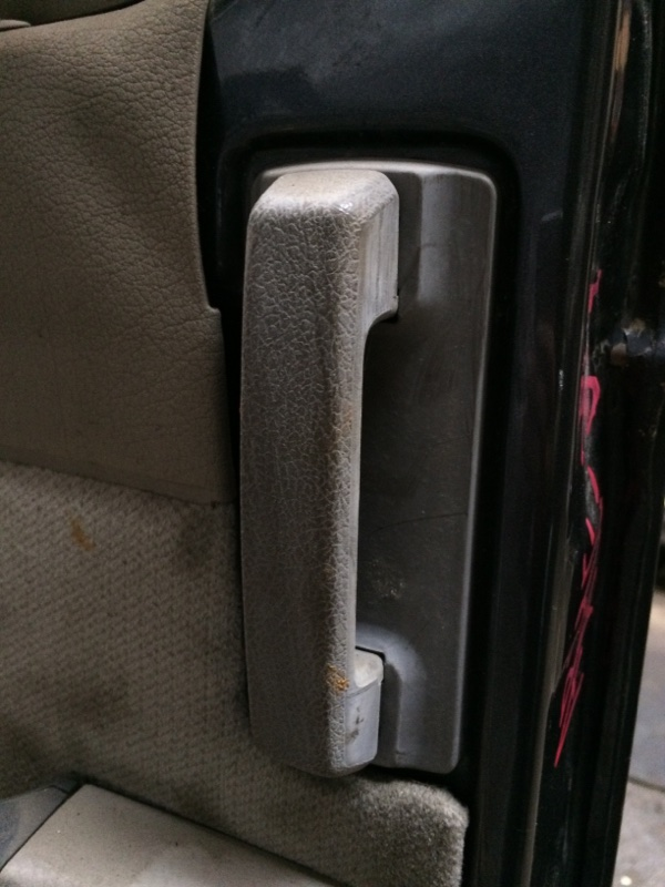 Ручка двери внутренняя Nissan Caravan ARME24 задняя левая (б/у)