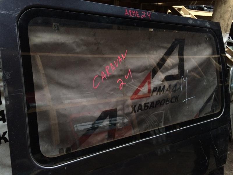 Стекло двери Nissan Caravan ARME24 заднее левое (б/у)