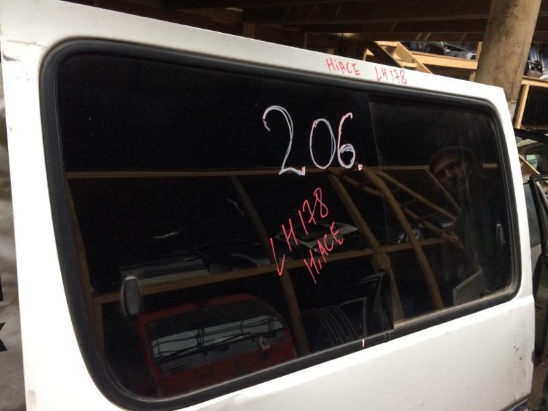 Стекло двери Toyota Hiace LH168 заднее левое (б/у)