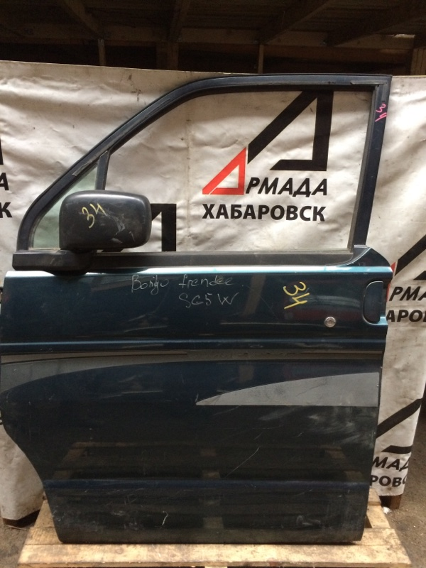 Дверь Mazda Bongo Friendee SG5W передняя левая (б/у)