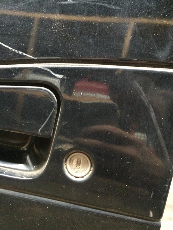 Личинка замка Nissan Elgrand AVE50 передняя левая (б/у)