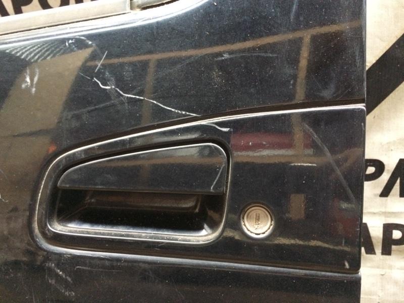 Ручка двери внешняя Nissan Elgrand AVE50 передняя левая (б/у)