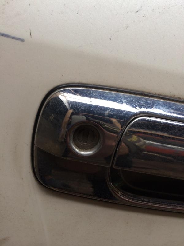 Личинка замка Toyota Crown JZS171 передняя правая (б/у)
