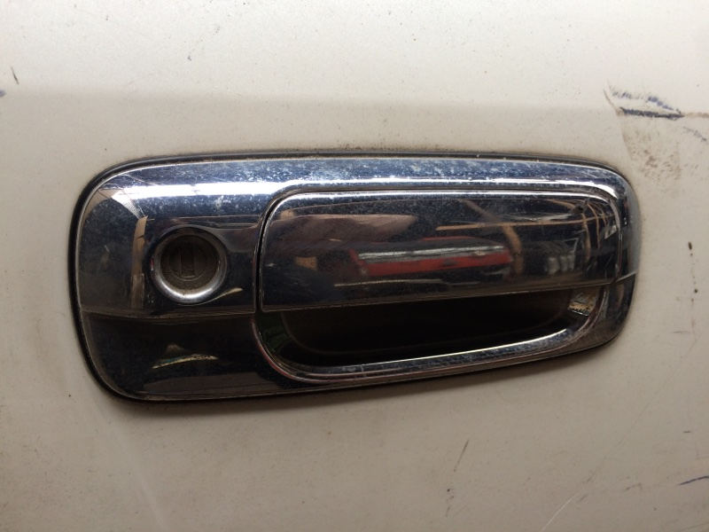 Ручка двери внешняя Toyota Crown JZS171 передняя правая (б/у)