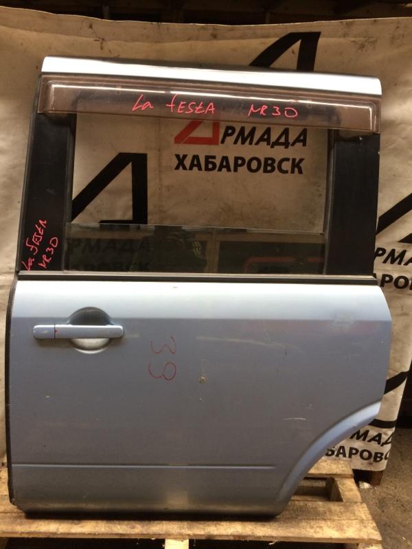 Дверь Nissan Lafesta NR30 задняя левая (б/у)