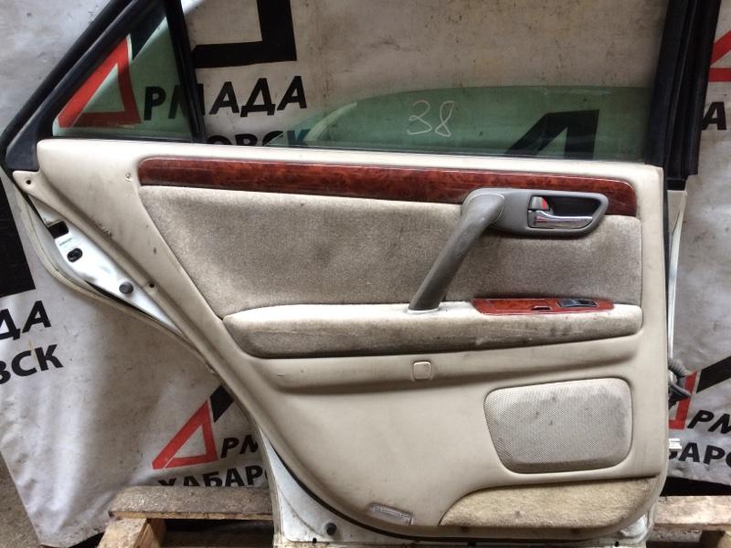 Дверная карта Toyota Crown JZS171 задняя левая (б/у)