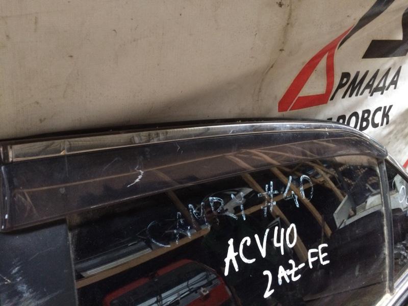 Ветровик Toyota Camry ACV40 задний левый (б/у)