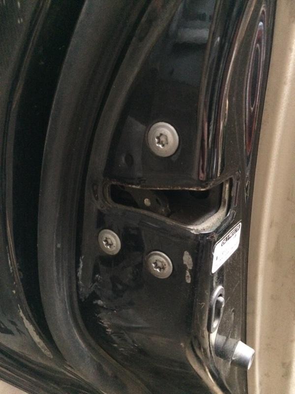 Замок двери Toyota Camry ACV40 задний левый (б/у)