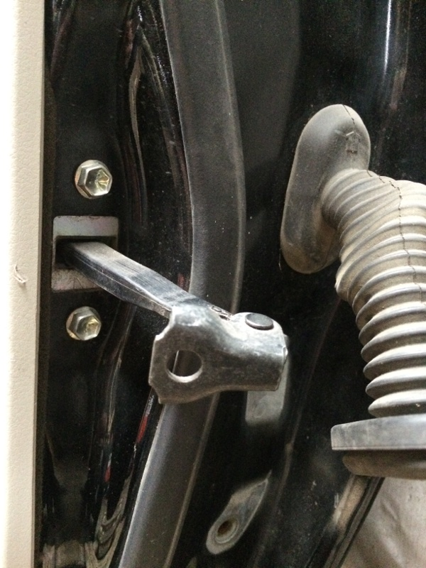 Ограничитель двери Toyota Camry ACV40 задний левый (б/у)