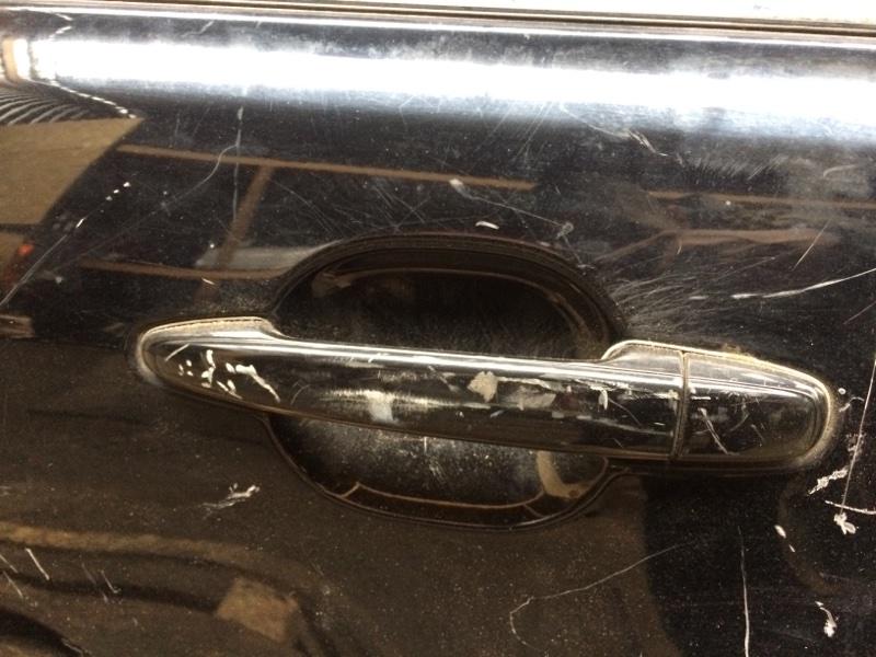 Ручка двери внешняя Toyota Camry ACV40 задняя левая (б/у)