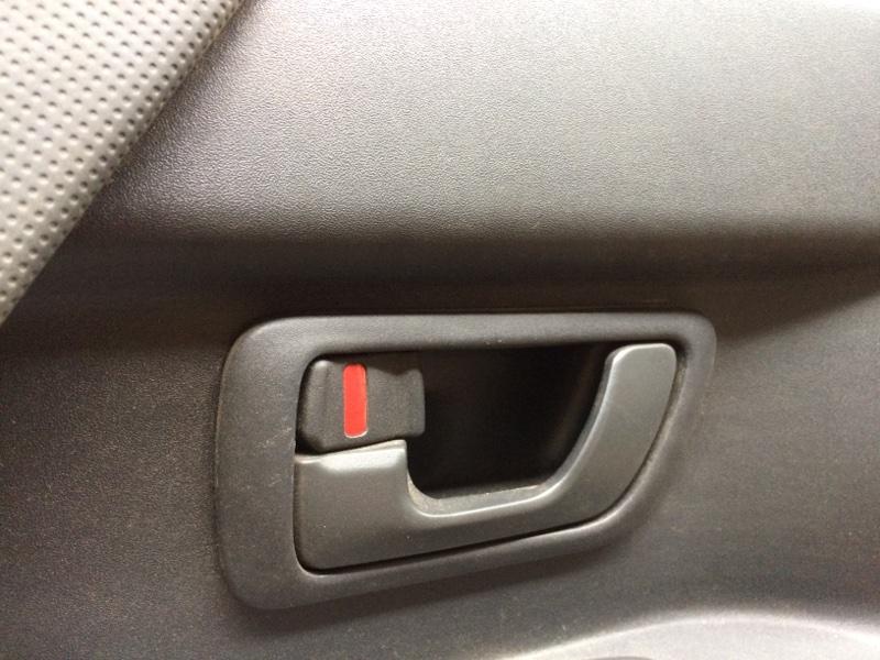 Ручка двери внутренняя Mitsubishi Pajero V75W передняя левая (б/у)