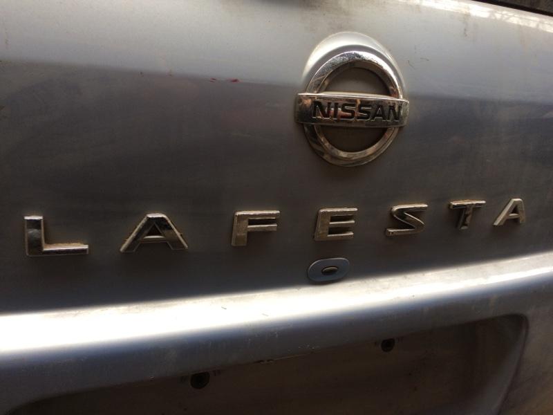 Эмблема Nissan Lafesta NR30 задняя (б/у)