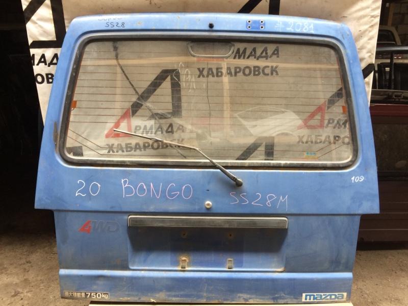 Дверь Mazda Bongo SS28 задняя (б/у)