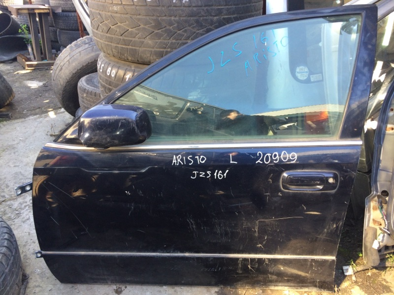 Дверь Toyota Aristo JZS161 передняя левая (б/у)