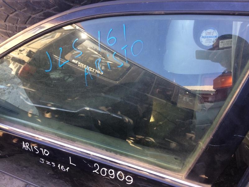 Стекло двери Toyota Aristo JZS161 переднее левое (б/у)