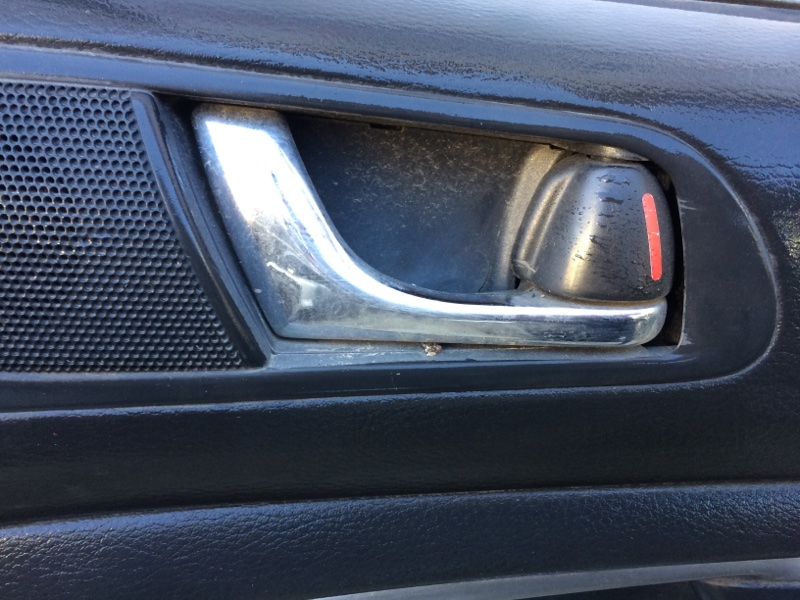 Ручка двери внутренняя Subaru Legacy BL5 передняя правая (б/у)