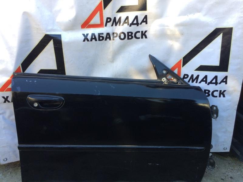 Стекло двери Subaru Legacy BL5 переднее правое (б/у)