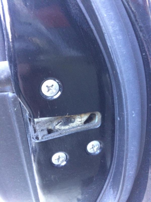 Замок двери Subaru Legacy BL5 передний правый (б/у)
