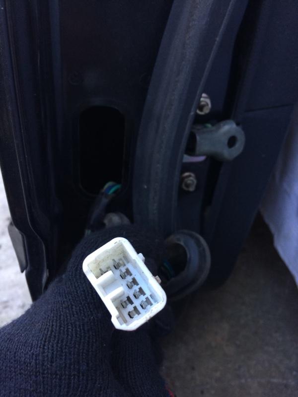 Проводка двери Subaru Legacy BL5 задняя правая (б/у)